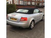2003 Audi A4 Convertible 2.4 Auto - Open To Offers