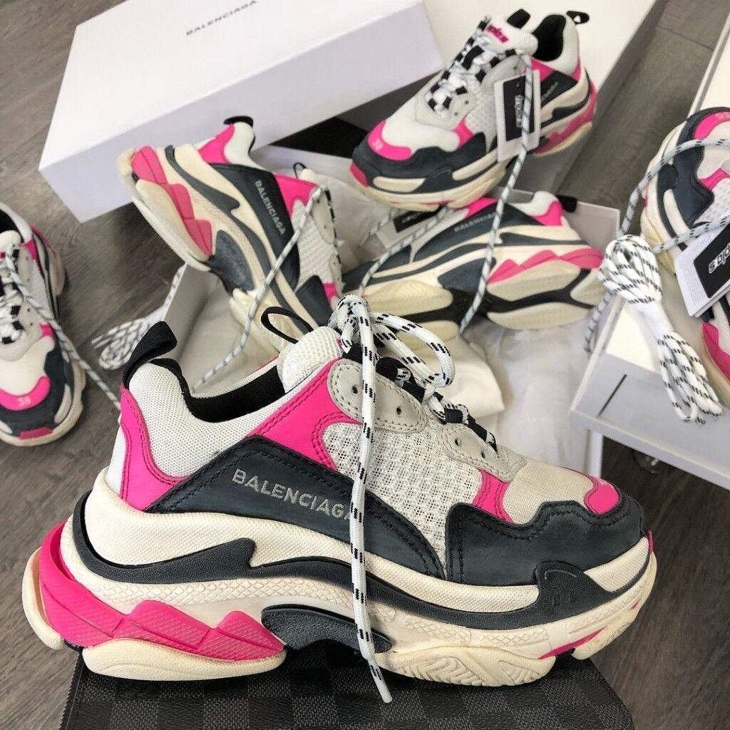 balenciaga triple s white Balenciaga Arena Sneaker