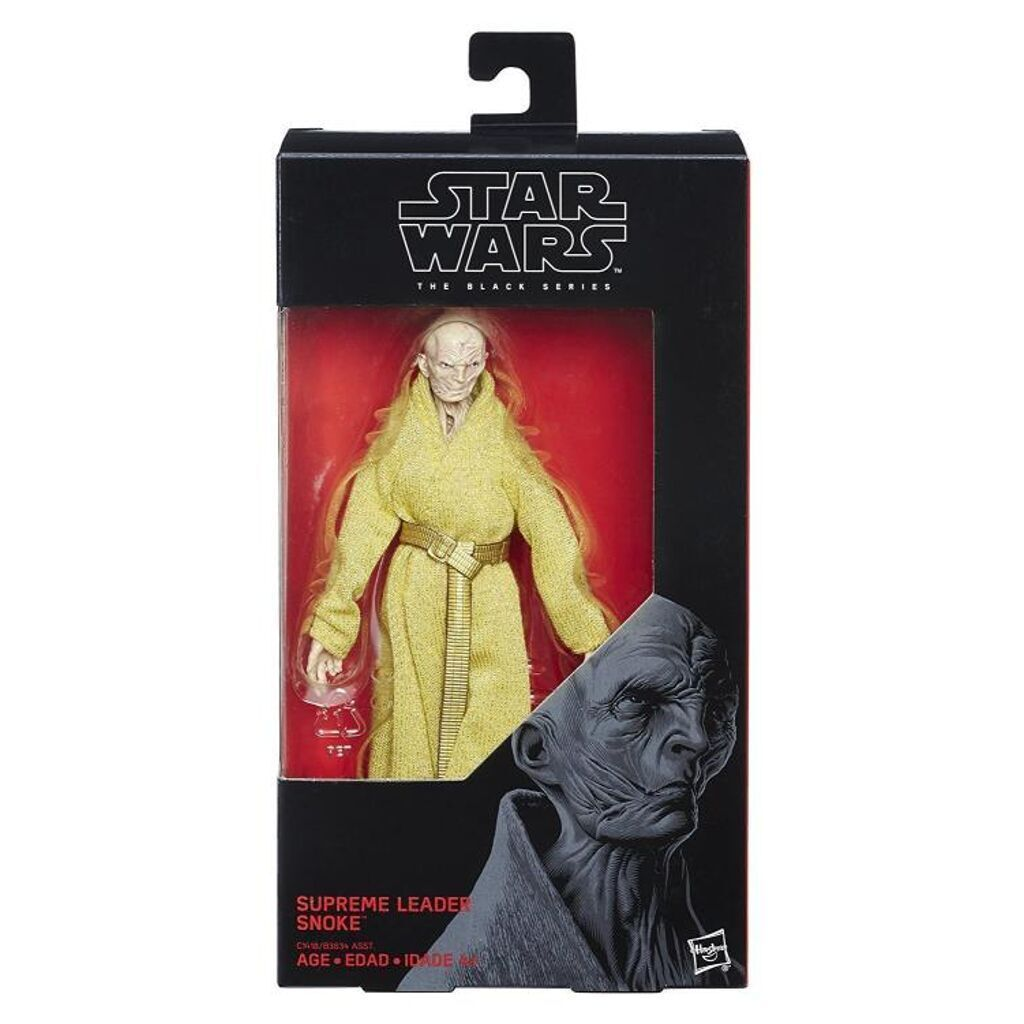 Star Wars The Black Series Snoke 6-Inch Action Figure No 54 IN STOCK USA
