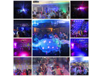 DJ Disco Party Entertainment Weddings Birthdays Christenings Anniversaries All Speical Occasions