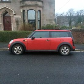 MINI CLUBMAN ONE 1.6.......Reduced for quick sale!!!