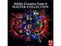 Adobe Master Collection CS6 for Macbook / Imac or Windows Laptop