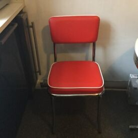 American diner table & 4 chairs