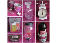 Various Items £3 Each or 2 for £5 - Cake Tin - Decanter - Giant Beer Stein - Ice Bucket - Beer Crate