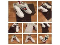 Gucci Unisex Men Women Trainers Sneakers Shoes Boys Girls Brand New Sizes: 5, 7 & 8