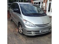 Toyota previa 8 seater d4d needs new parts for quick sale.