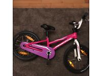 Girls 16 inch hot rock specialized bike.