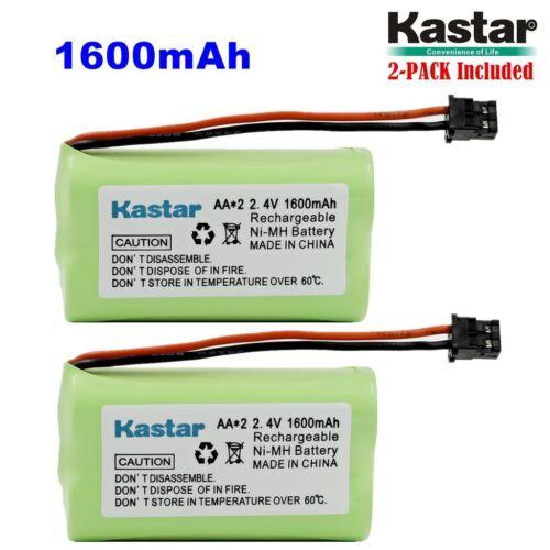 2 x 2.4V 1600mAh AA MSM Phone Battery for Uniden BT1007 BT-904 BBTY0700001