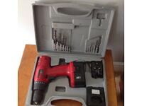 Power Devil battery operated drill
