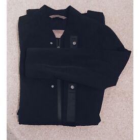 Zara Longline Bomber Jacket