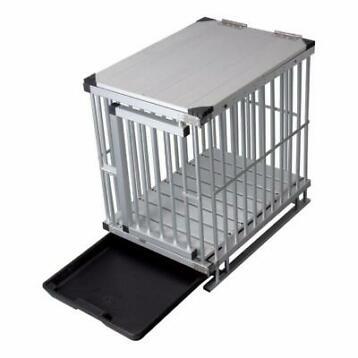 Cage pour chien ALU cage chiot cage chien QUALITE NEUF
