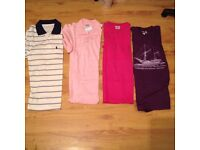 Bundle of Ladies cloths T-shirts and Jacket