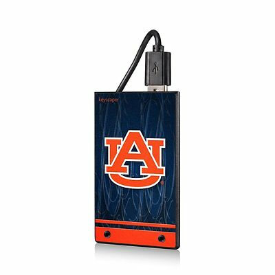 Auburn Tigers NCAA 2200mAh Credit Card Power -