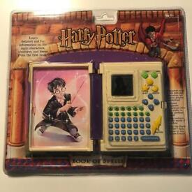 Harry Potter spell book (unopened)