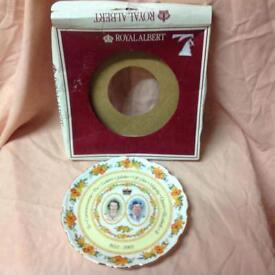 Royal Albert Commemorative Plate