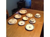 Vintage china (assorted) including cups, saucers, plates, bowls!