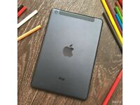 Lovely Boxed iPad Mini Perfect Working Order, 4G Data Sim Card Version UNLOCKED 16gb, Designer Case