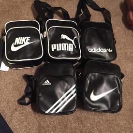 mans bag nike/adidas/puma for sale brand new