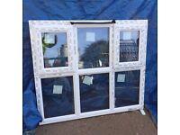 UPVC Window 1335mm x 1160mm ref 242