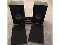whrfedale speakers with instruction booklet