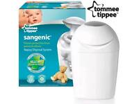 Tommee tippee baby changing nappy bin