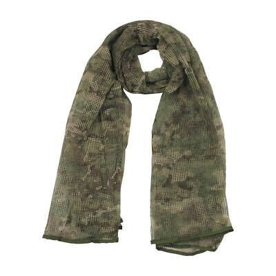 Red bufanda camuflaje multicam malla militar caza enmascaramiento ocultación