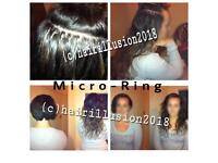 Mobile Micro-ring Hair Extensions & Brazilian Keratin Treatment