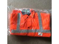 *NEW* Portwest Hi Vis Traffic Jacket RT30 LARGE