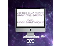 Web Designer With Graphic Design Experience Wanted!