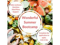 Wonderful Summer Bootcamp - 6 weeks of accountability, support and awesome fun