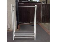 Clothes hanger and shoe rack for sale