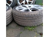 Vauxhall vectra,corsa,astra,zafira gsi vxr 18 alloys