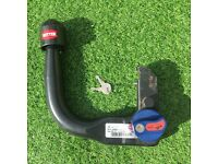witter detachable swan neck tow bar