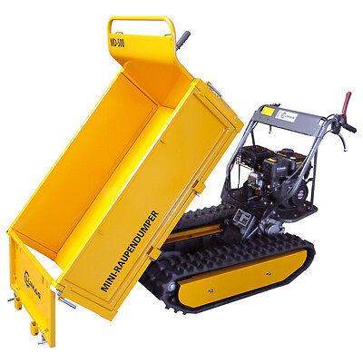 Lumag Raupendumper Dumper Minidumper Motorschubkarre Kettendumper MD 500