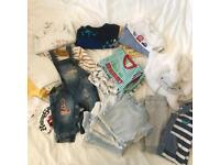 Boys bundle of baby clothes (newborn to 3 months)