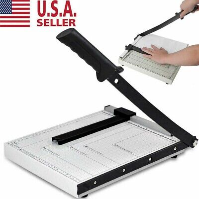 A4 To B7 12 Paper Cutter Metal Base Guillotine Page Trimmer Blade Scrap Booking