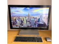"""Lenovo IdeaCentre A720 27"""" ALL IN ONE PC i5 2.6GHZ 8GB 320GB HDD +WINDOWS 7 & 10"""