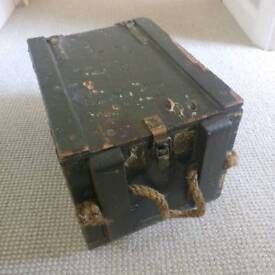 Old Military Ammo Box