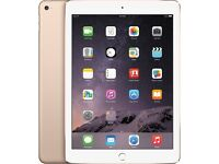 iPad Air 2, brand new, boxed, 32GB, WIFI, gold.