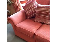 M&S 3 piece lounge suite. Good condition. May be negotiable on price.