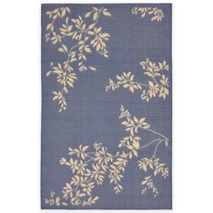 Liora Manne 7-Foot 10-Inch x 9-Foot 10-Inch Terrace Vine Rug in Blue Indoor/Outdoor Rug NEW ** 5 CORNERS FURNITURE**