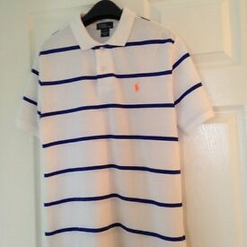 Ralph Lauren polo shirt, age 14-16