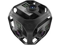 GoPro Omni Rig and 6 x Hero 4 Go Pros - Suitable for high-quality adventure 360 filming