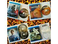 Blu-ray's for sale Man of Steel bluray Robocop Steel Panther concert blu ray Noel Gallagher