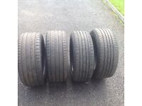 Tyres for sale as new