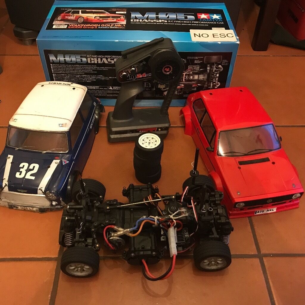 Tamiya m05 RTR RC CAR EXTRAS AND UPGRADED BOXED