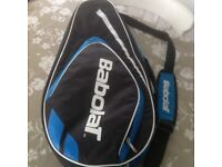 Babolat tennis racquet bag for sale. Blue. Great condition