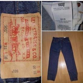 501 Levi men's jeans W31 L30