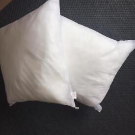2 x BRAND NEW Large Cushion Inners 60 x 60cm