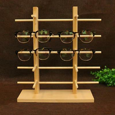 Wooden Sunglass Eye Glass Display Rack Counter Stand Organizer 3456 Layers